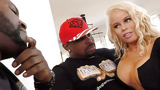 Nikki Delano Interracial Threesome