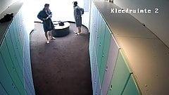 Hidden camera in the locker room 8