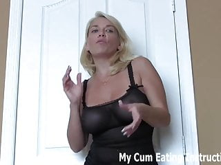 Made to eat cum for spying on your neighbor CEI