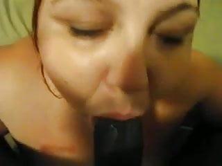 Sbbw Teen suck Fat black cock until cum