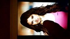 Cum tribute to Selena Gomez 3