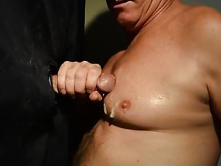 Preview 5 of Terry Lavigne takes Load on Chest