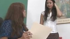 Spanked in the classroom by the Teacher