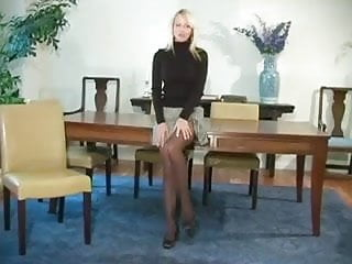 JOI pantyhose tease with CEI