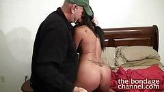 bedroom bondage porn