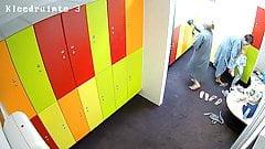 Hidden camera in the locker room 2