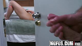 Mofos - Pervs On Patrol - Molly Jane - Spying on a Snooping