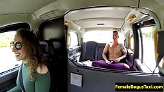 British cabbie amateur cocksucking passenger