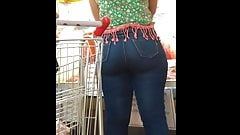 rabuda no mercado (big ass in supermarket) 167