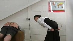 Old Fashioned Discipline With English Governess Part 2