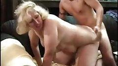 Jamie Monroe slut mom ganbang in garage