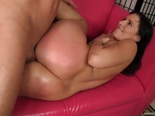 Big Booty Babe Licks Ass Before Getting Fucked