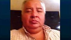 mexican grandpa wanking and cumming