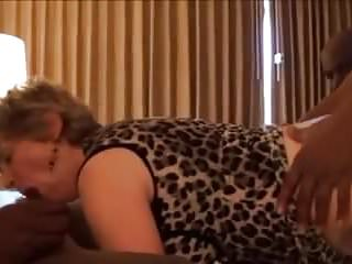 Granny sucks and fucks 3 BBCs! Anal and Facial!