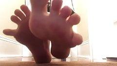 Jenna C. Foot tease