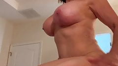 First time with a Cougar Milf Pornstar