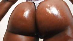 Ebony Ass worship