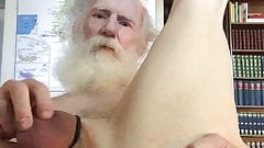 Grandpa touching himself for Colin
