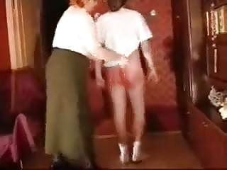 granny spanking and belting