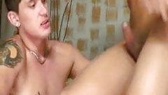 Wild Shemale Fucking Cute Guy Ass