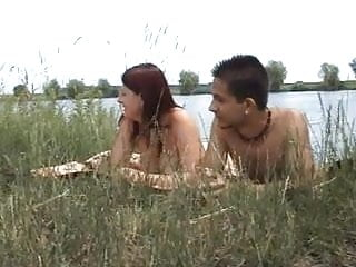 Russian amateur group outdoors
