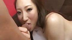 Naughty Tokyo chick Koyuki Hara pussy licked and gives amazi