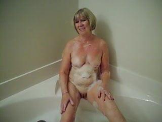 Bath Time for Fiona