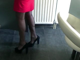 Kyra In Secrets In Lace Nylons