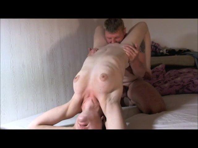 Bored wife licked sucks & fucks bbc underneath cam vu