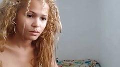 Blonde Girlfriend Lazy Fucking