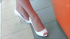 candid heels of girlfriend 1