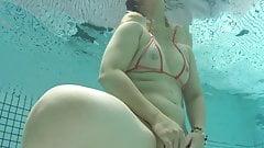Horny MILF Mari's GoPro underwater long sample
