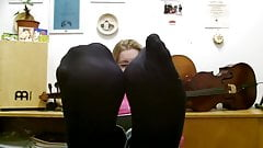 Mrs Teacher and her Nylonfeet 6