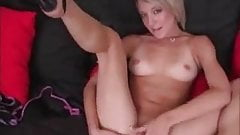 Amy brooke eats a load of cum off glass coffee table by 4FThem.com