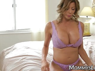 Busty Stepmom Shows Her Stepdaughter Her Squirting Condition