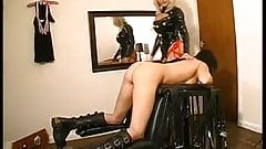 Domme strapon sub girl