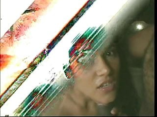 Stunning young latina gets a big facial load after getting fucked by huge dick