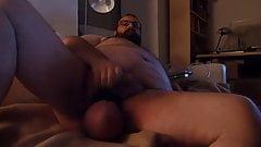 wank big balls