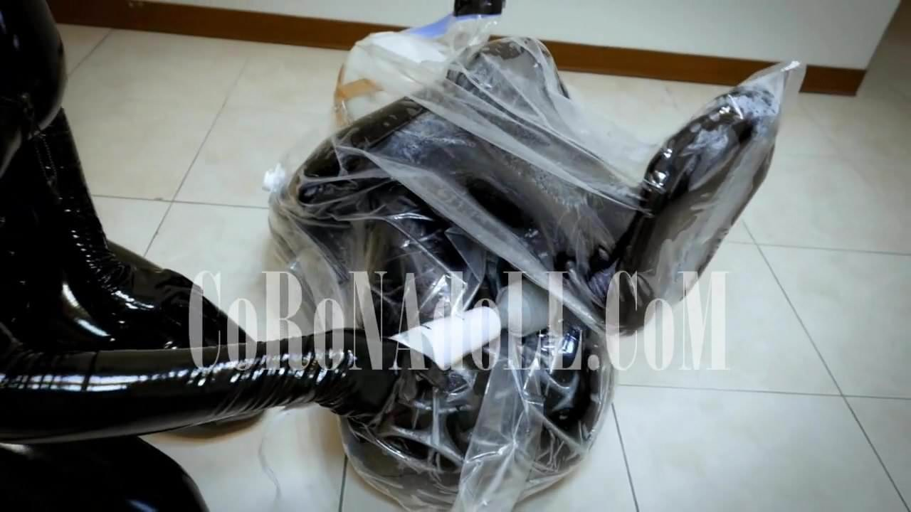 Bondage vacuum bag can