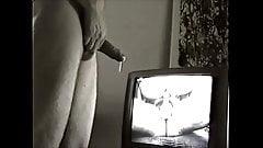 Danish husband wanking and cuming