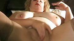 Delaney enjoys herself.