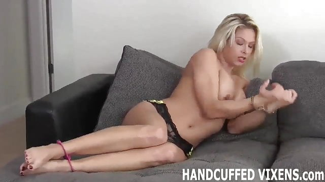 Preview 1 of Please help my take off these handcuffs JOI