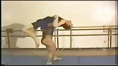 FBB Sharon Marvel wrestling a