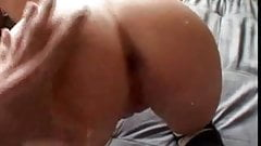 Black Cock So Big Blonde Can't Fit It In Her Pussy! Amazing!!! Please Comment