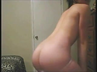 Dance! Girlfriend dances for her man on webcam.