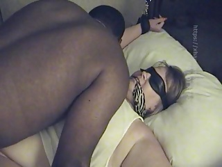 Big Tit BBW Srapped Down and Fucked (Part 1)