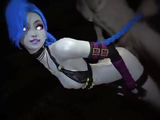 Sfm League Of Legends Jinx Takes It From Behind