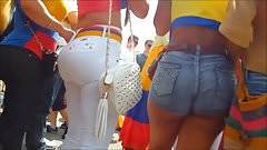 Two Huge Asses From Colombia