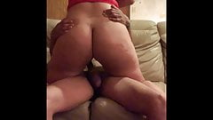 5ft8 Hawaiian Thick Bombshell Rides BBC and Pounded from Bac