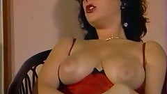 A Big Tits Girl work with her Hairy Pussy